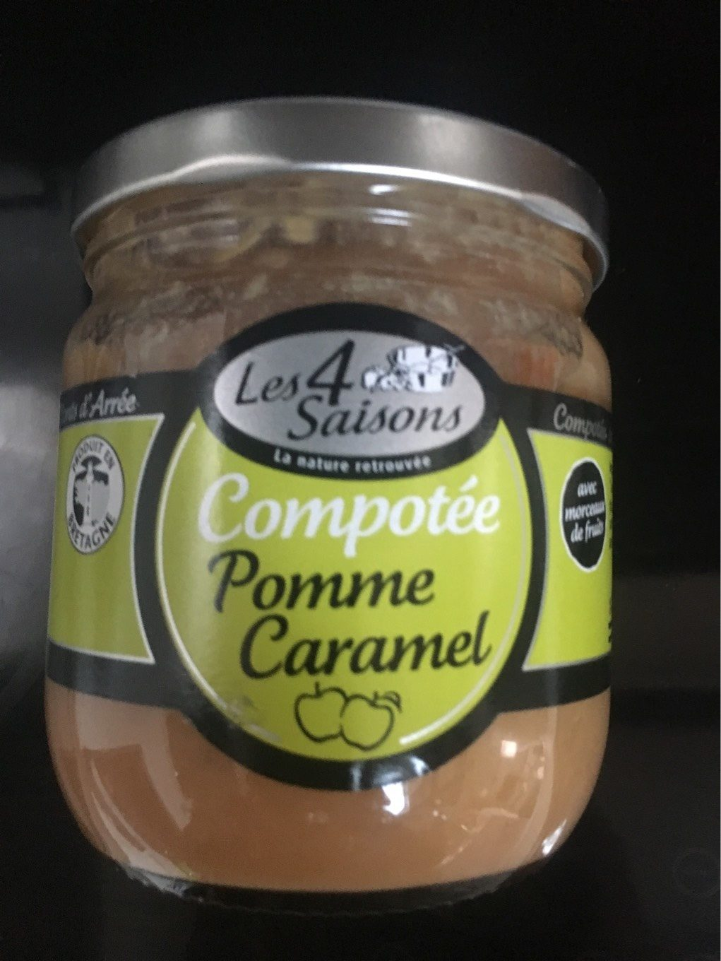 Compotee pomme caramel - Product - fr