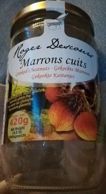 Marrons cuits - Produit - fr