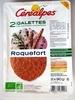 Galettes de céréales complètes Roquefort - Product