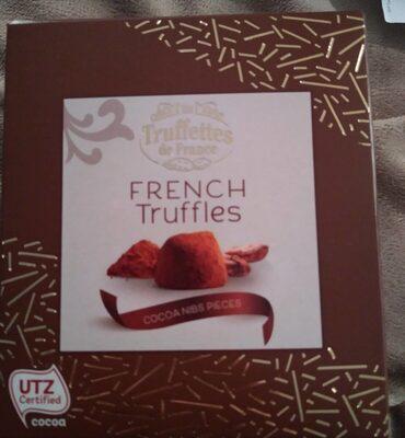 French Truffles Cocoa Bean - Produit - fr