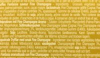 Chocmod Truffettes De France Fine Champagne French Truffles 200 G (pack of 4) - Ingredients