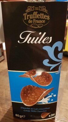 Tuiles chocolat au lait croustillant - Product