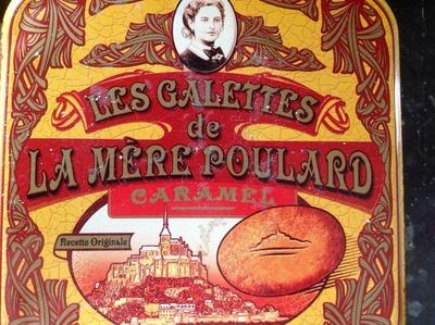 Les galettes de la Mère Poularde - Produit