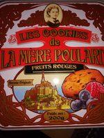 Les Cookies de la Mère Poulard Fruits Rouges - Product - fr