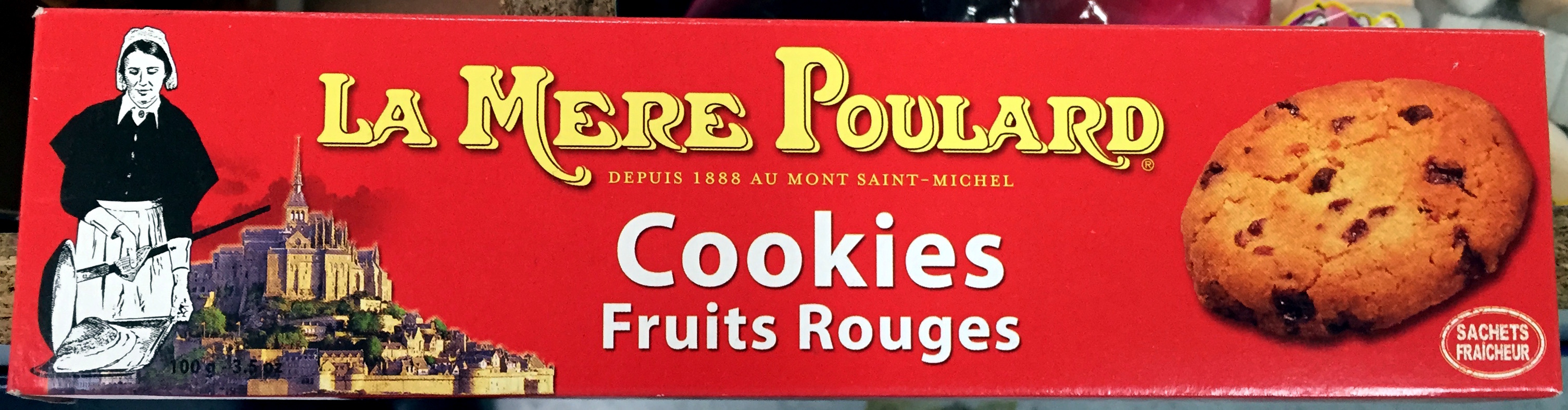 Cookies Fruits Rouges - Produit