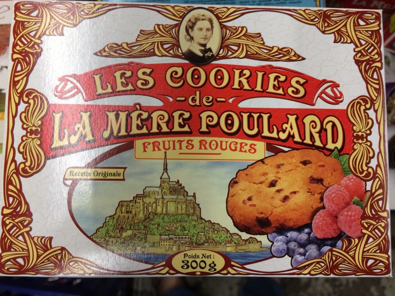Les Cookies de la Mère Poulard Fruits Rouges - Product - fr