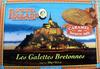 Mère Poulard galettes Bretonnes caramel au beurre salé - Produit