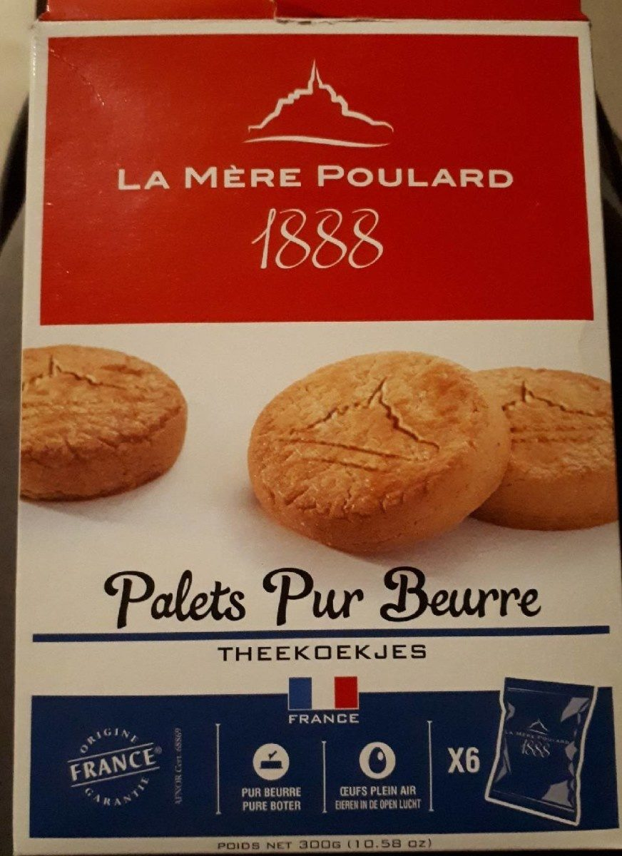 Palets pur beurre - Product - fr