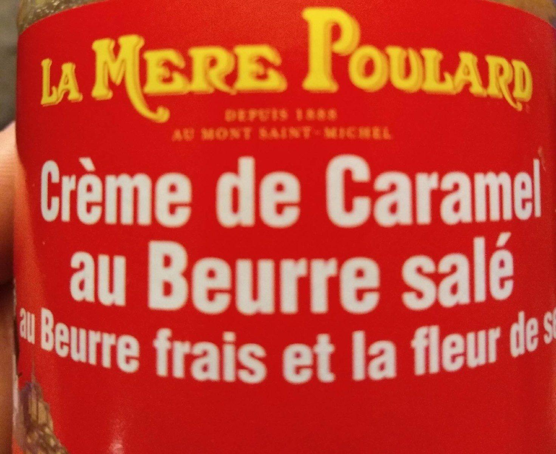 Crème de caramel au beurre salé - Product