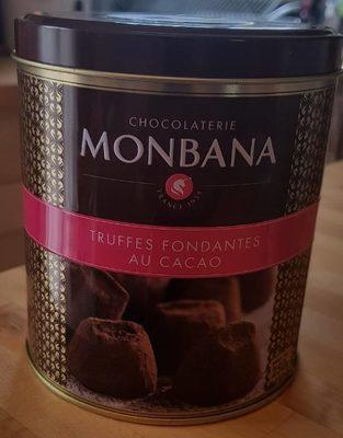Truffes fondantes au cacao - Produit