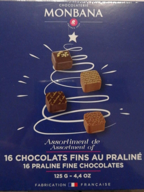 Chocolat fin au praliné - Produit - fr