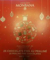 Chocolats fins au praliné - Produit