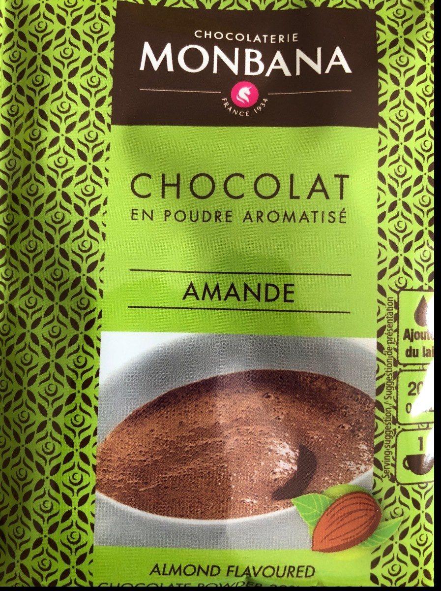 Chocolat en poudre aromatisé amande - Produit - fr