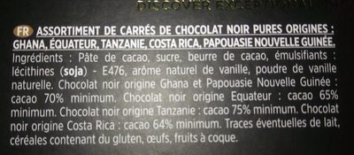 Pures origines - Ingredients - fr