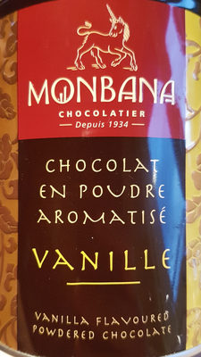 Chocolat Poudre Monbana Vanille - Produit - fr