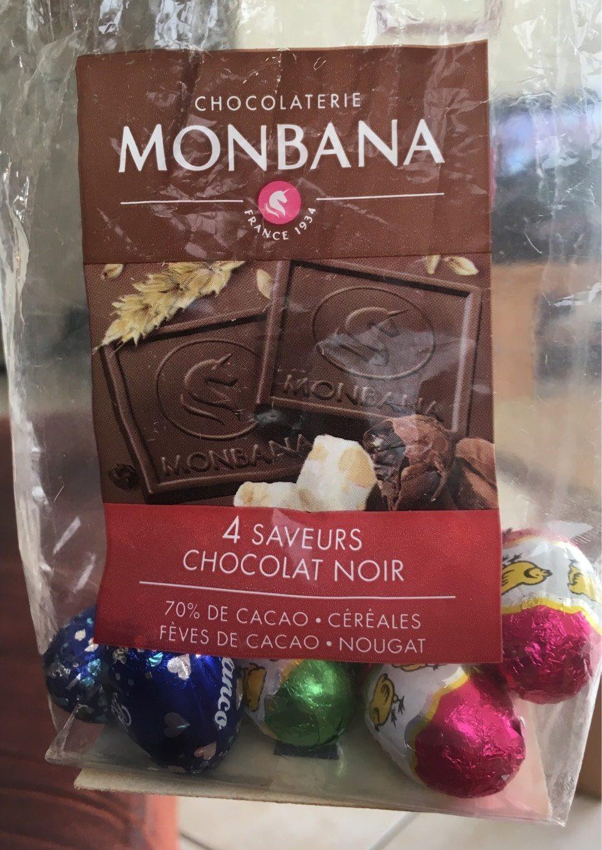4 saveurs chocolat noir - Produit - fr