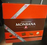Chocolaterie Monbana - boite assortiment - Product