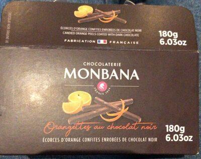 Orangettes au chocolat noir - Prodotto - fr