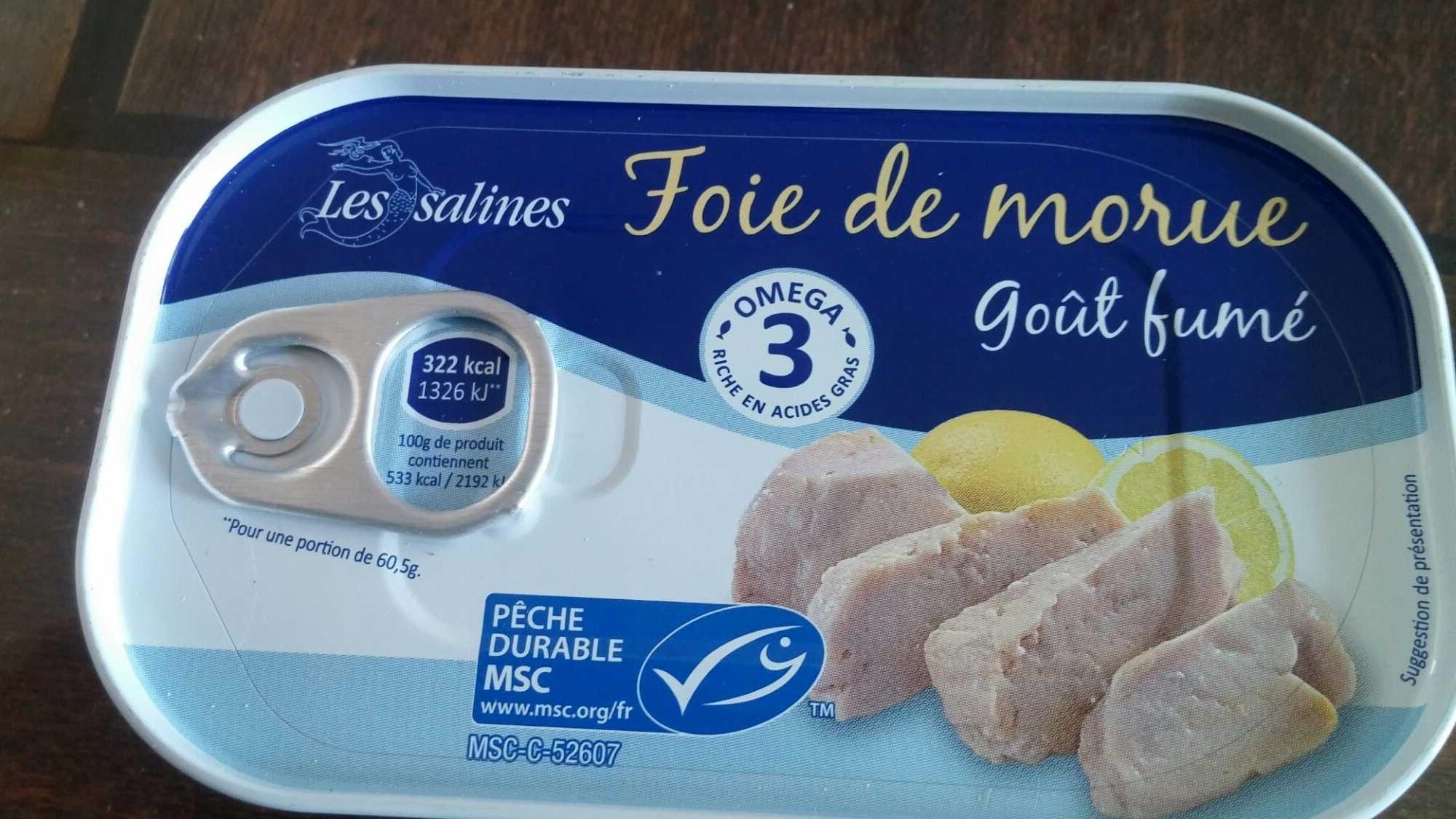 Foie de morue goût fumé - Produit - fr