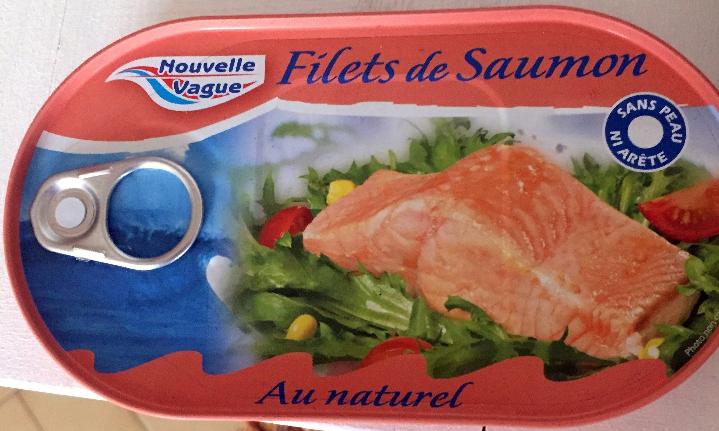 Filets de saumon au naturel - Produit - fr
