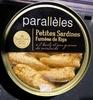 Petites sardines fumées de Riga à l'huile de colza et graines de moutardes - Product