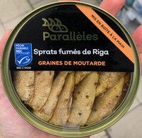 Sprats fumés de Riga graines de moutarde - Product - fr
