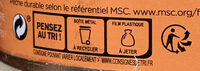 Sprats fumés de Riga graines de moutarde - Recycling instructions and/or packaging information - fr