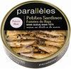 Petites Sardines fumées de Riga Poivre Noir - Product