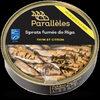 Petites sardines de Riga au thym et au citron - Product