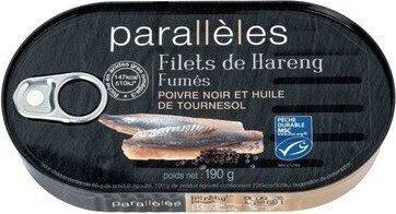 Filets de hareng fumes - Prodotto - fr