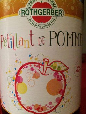 Petillant de pomme - Product