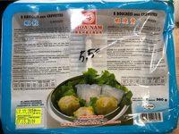 8 Raviolis aux Crevettes / 8 Bouchées aux Crevettes - Product - fr