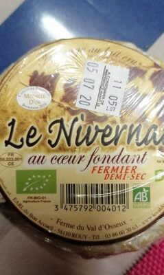 Le nivernais - Voedingswaarden - fr