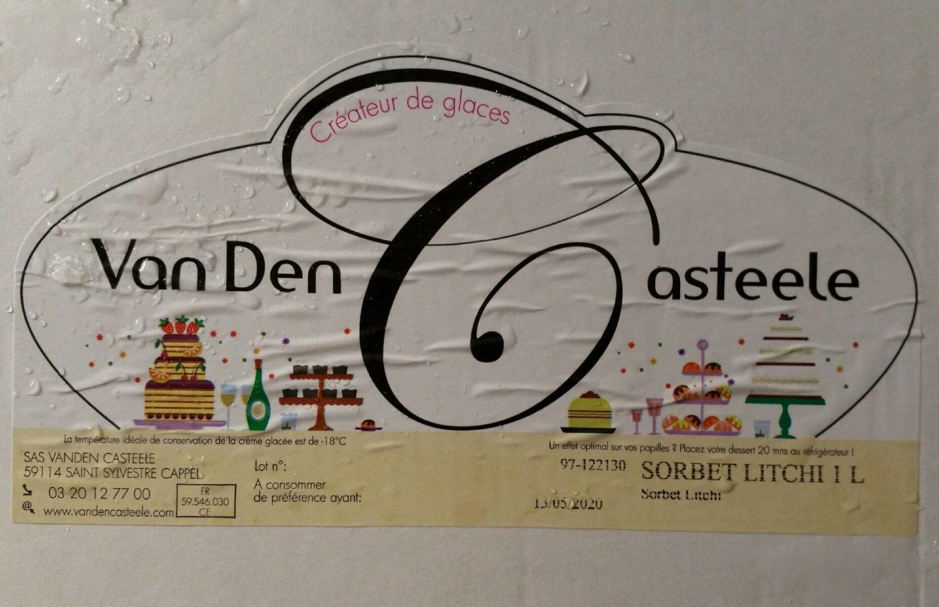 Sorbet Litchi - Produit - fr