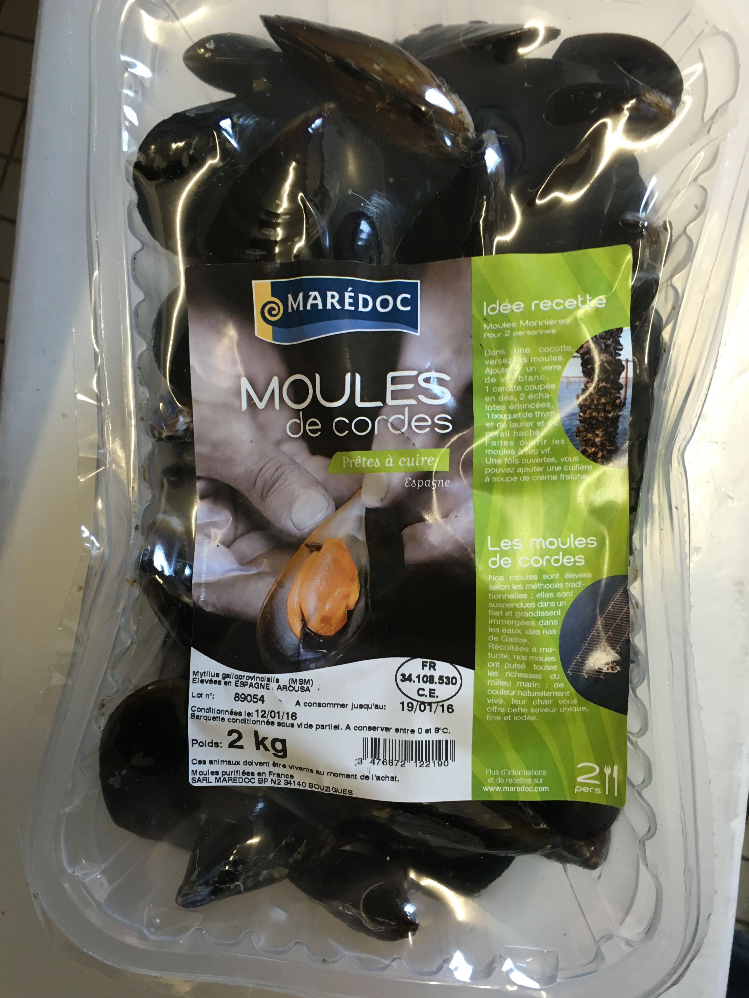 Moules de Cordes - Product - fr