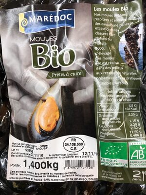 Moules bio - Product - fr