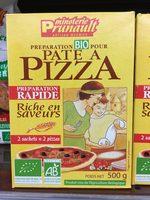 Préparation Bio pour pâte à Pizza - Produit