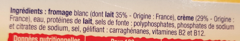 choubidou à la crème - Ingredients - fr