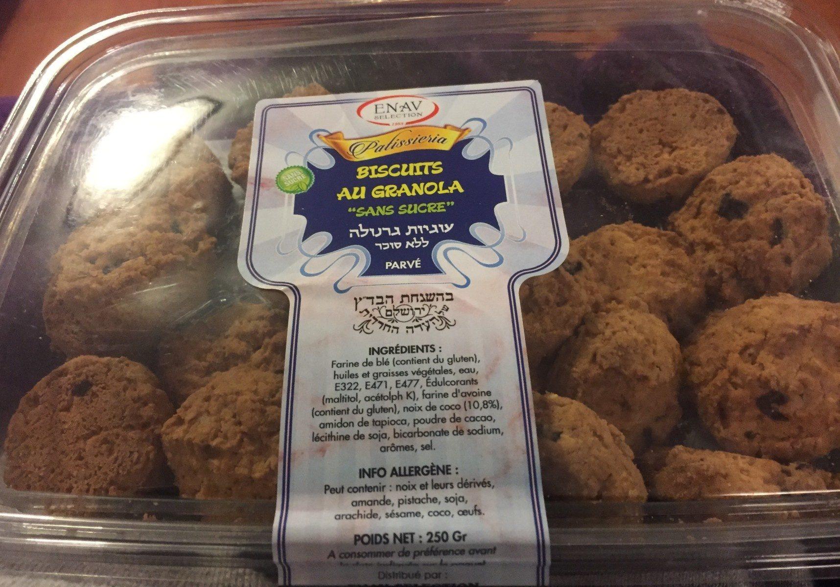 """Biscuits au granola """"sans sucre"""" - Produit - fr"""