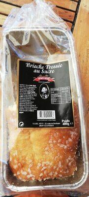 Brioche tressée au sucre - Produit - fr