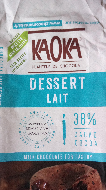 Tablette Dessert Lait 32% - Produit - fr