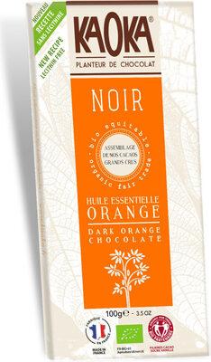 Chocolat Noir à l'huile Essentielle d'Orange Bio - Product - fr