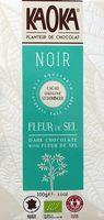 Noir 70% Fleur de Sel - Origine St Domingue - Product - fr