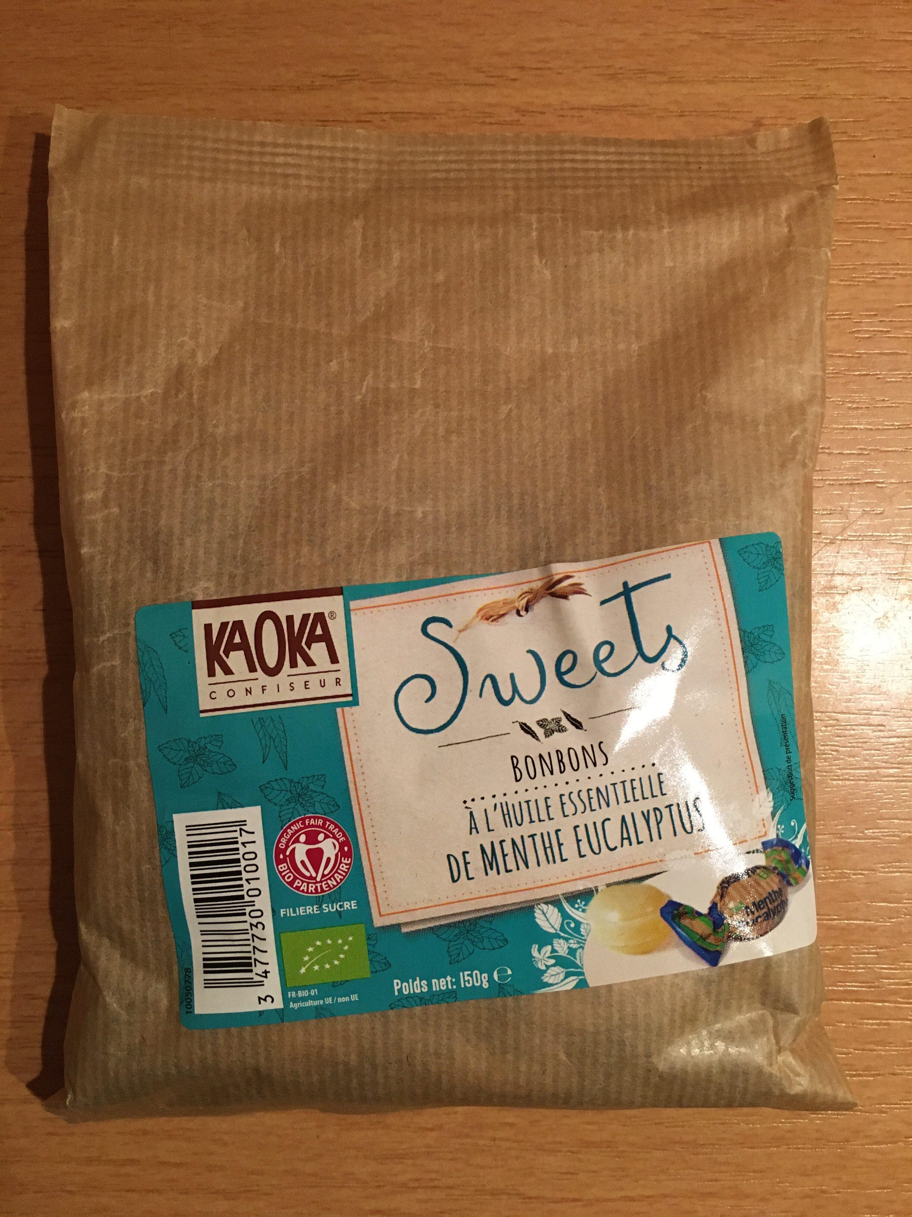Kaoka - Bonbons Menthe Et Eucalyptus - Produit - fr