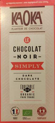 Chocolat noir bio simply dark - Produit - fr