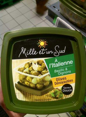 Olives à l'italienne, basilic & oignons doux - 2