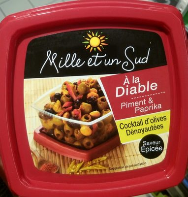 Cocktail d'olives dénoyautées à la diable - Product - fr
