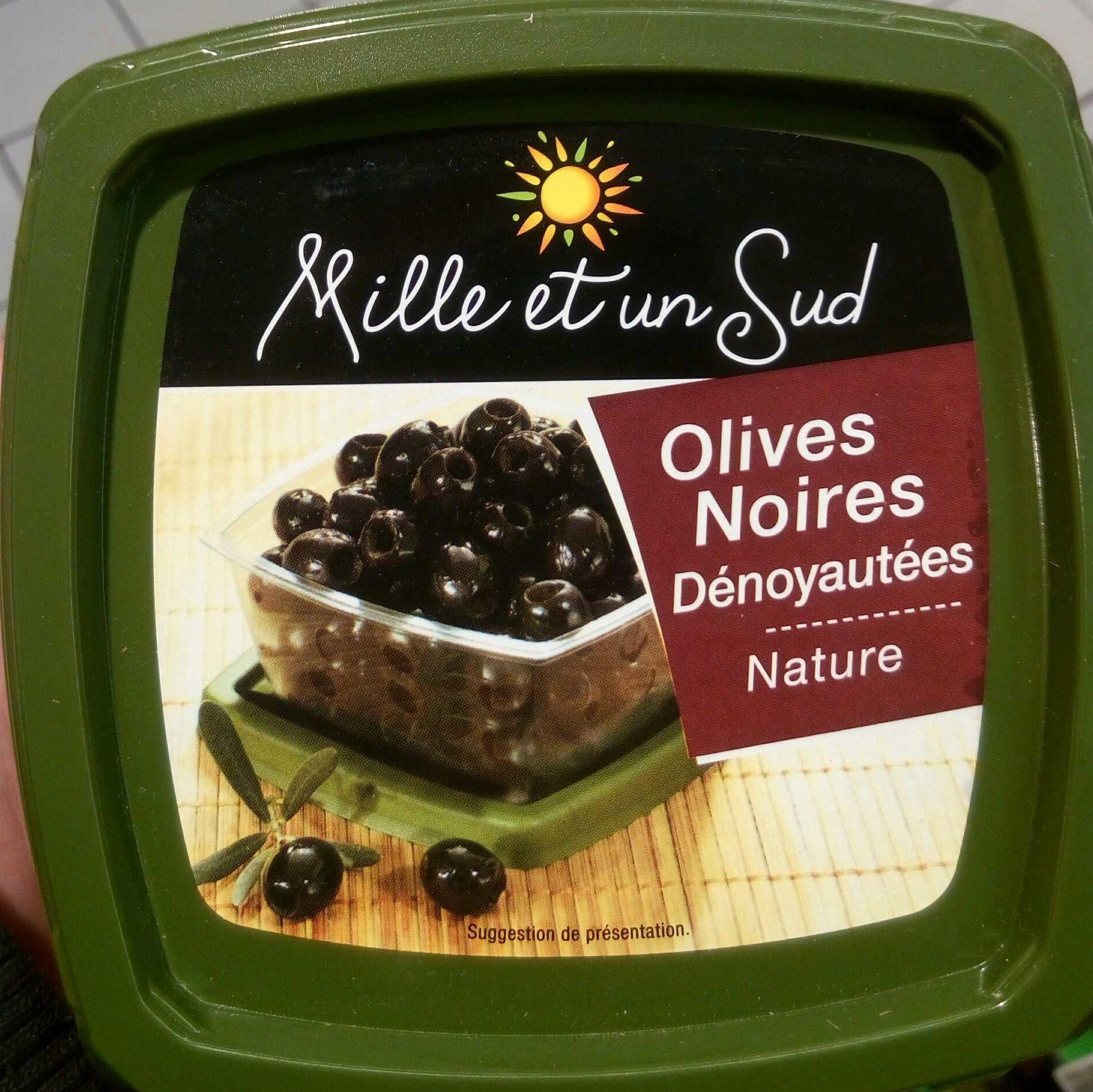 Olives Noires Dénoyautées Nature - Produit