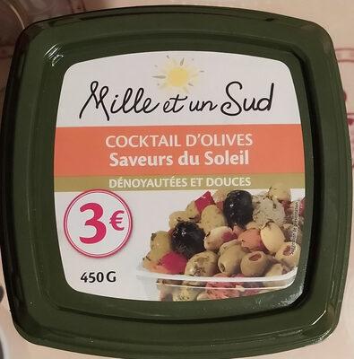 Cocktail d'olives Saveurs du Soleil Dénoyautées et Douces - Produit - fr