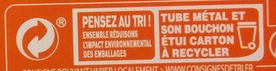 Double concentré de tomate Bio (28%) (Voir 2000000002768) - Instruction de recyclage et/ou informations d'emballage - fr